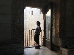Inside Castel del Monte