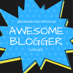 AwesomeBlogger award