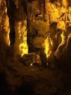 Inside Grotte di Castellana