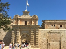 Mdina Gate, main entrance to the fortified city