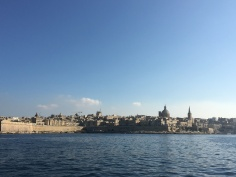 View of Malta from the sea
